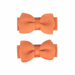 Your Little Miss Baby hair clips with bow ginger