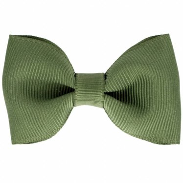 Your Little Miss Hair clip with bow moss