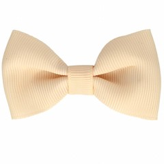 Your Little Miss Hair clip with bow ecru