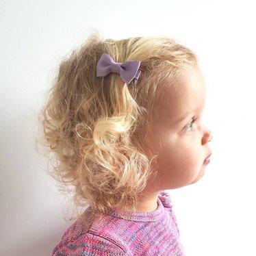 Your Little Miss Baby haarspeldje light purple