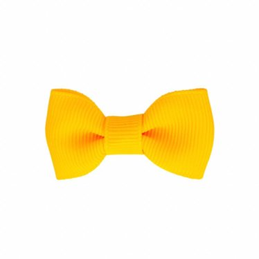 Your Little Miss Baby hair clip yellow