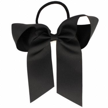 Your Little Miss Hair bow with elastic black