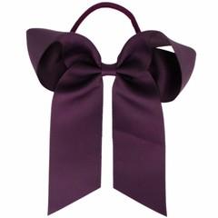 Your Little Miss Haarstrik  met elastiek dark purple