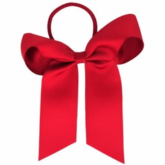 Your Little Miss Hair bow with elastic scarlet