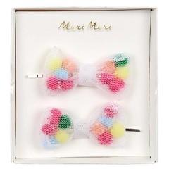 Meri Meri Slider pins pompom bow