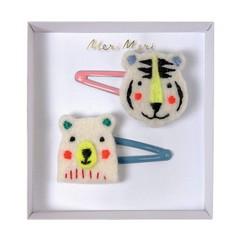 Meri Meri Slider pins animals