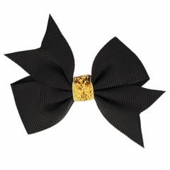 Your Little Miss Fiocchetto per capelli glitterato nero