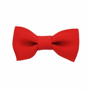 Your Little Miss Baby hair clip red