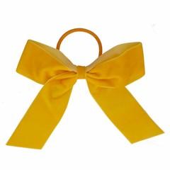 Your Little Miss Hair bow with elastic ocher velvet