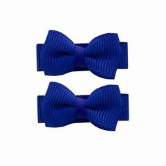 Your Little Miss Baby Haarspangen mit Bogen blau