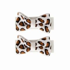 Your Little Miss Épingle à cheveuxs léopard blanc