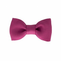 Your Little Miss Baby hair clip raspberry