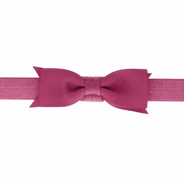 Your Little Miss Baby hairband with bow raspberry