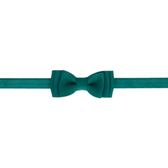 Your Little Miss Baby hair band with double bow jade