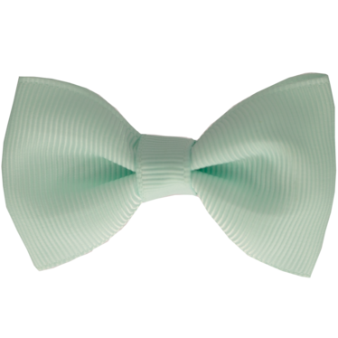 Your Little Miss Haarspeldje met strik pastel green