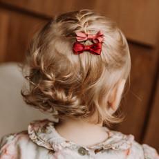 Hårspännen för flickor i trendiga färger