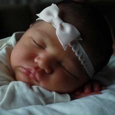 Lindas cintas para el cabello del bebé recién nacido