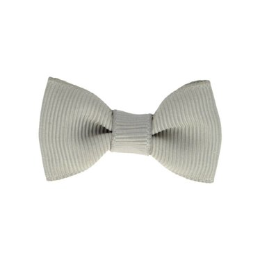 Your Little Miss Baby hair clip grey
