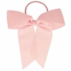 Your Little Miss Haarelastiek met grote strik - pink