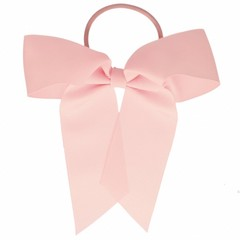 Your Little Miss Hair bow with hair tie pink