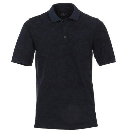 CASA MODA Polo Shirt | 100% Baumwolle | Blau
