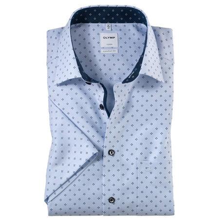 OLYMP Hemd kurzarm | 100% Baumwolle | Bügelfrei