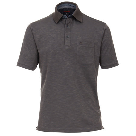 CASA MODA Polo Shirt | Baumwolle gemischt | olive