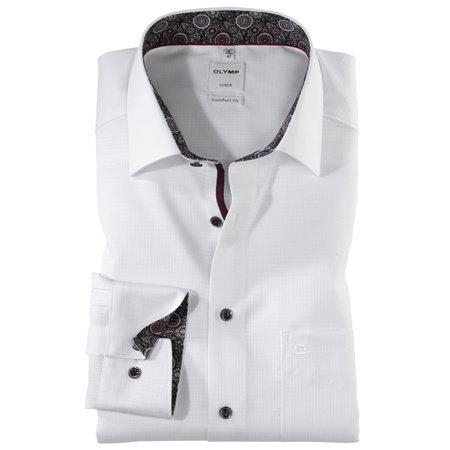 OLYMP Hemd weiss | 100% Baumwolle