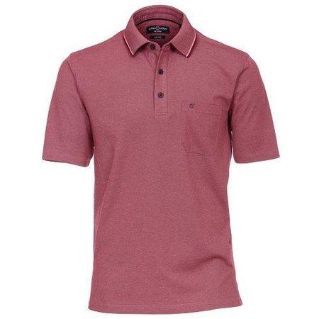 CASA MODA Polo Shirt rot Casa Moda grosse Grössen