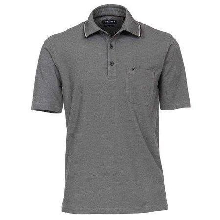 CASA MODA Polo Shirt grau Casa Moda grosse Grössen