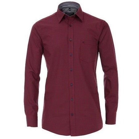 CALAMAR Hemd langarm rot | auch in Übergrössen
