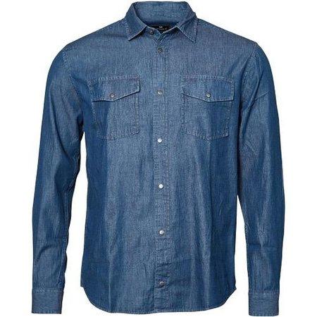 REPLIKA JEANS Jeans Hemd | XL bis 4XL