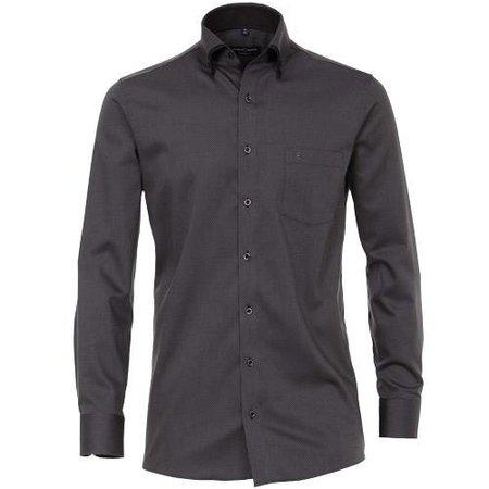 CASA MODA Hemd langarm schwarz | Grösse 42 bis 56