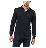 PIERRE CARDIN Sweat Polo dunkelblau