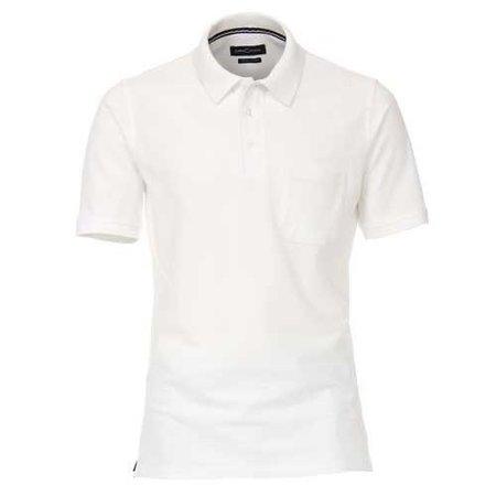 CASA MODA Polo Shirt weiss | M bis 6XL