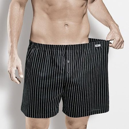 ISA Boxershorts schwarz L bis 6XL