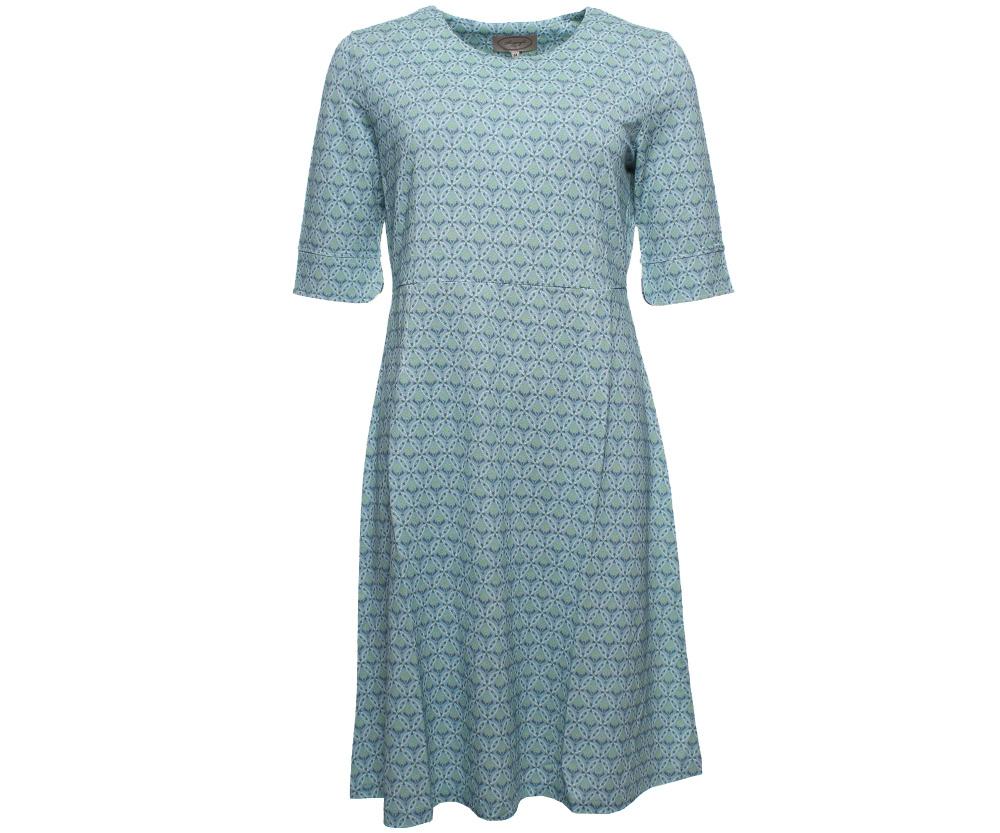 Kleid mit Dreiviertelärmel