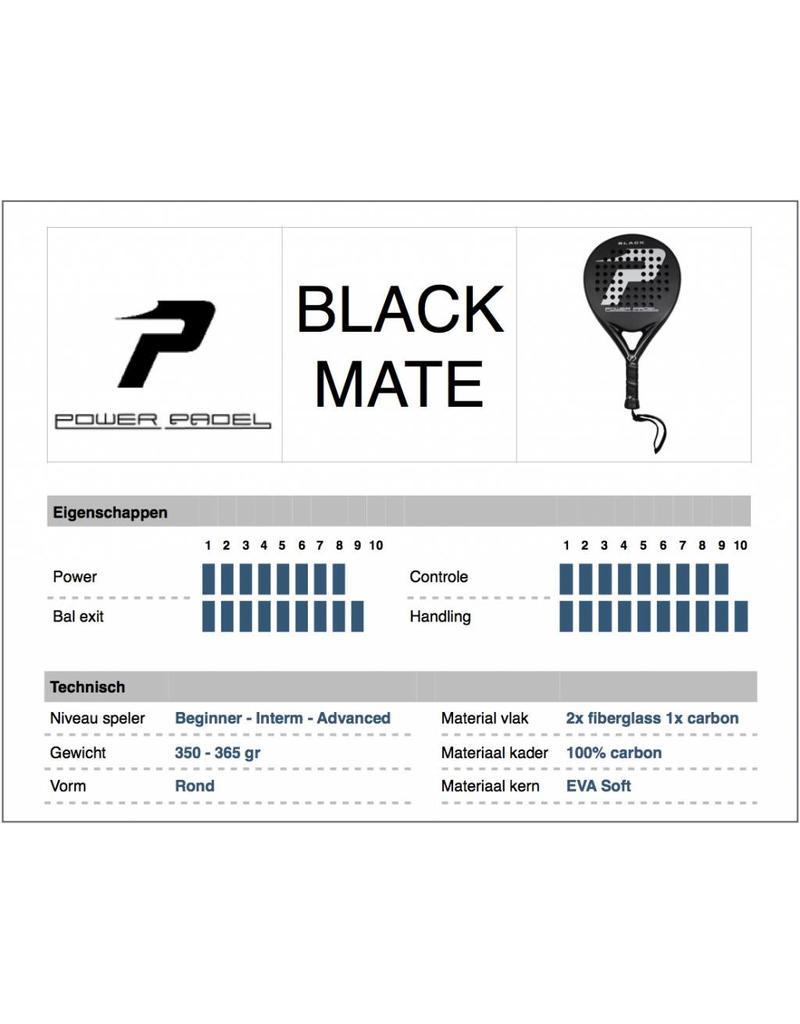 Power Padel Power Padel Black Mate