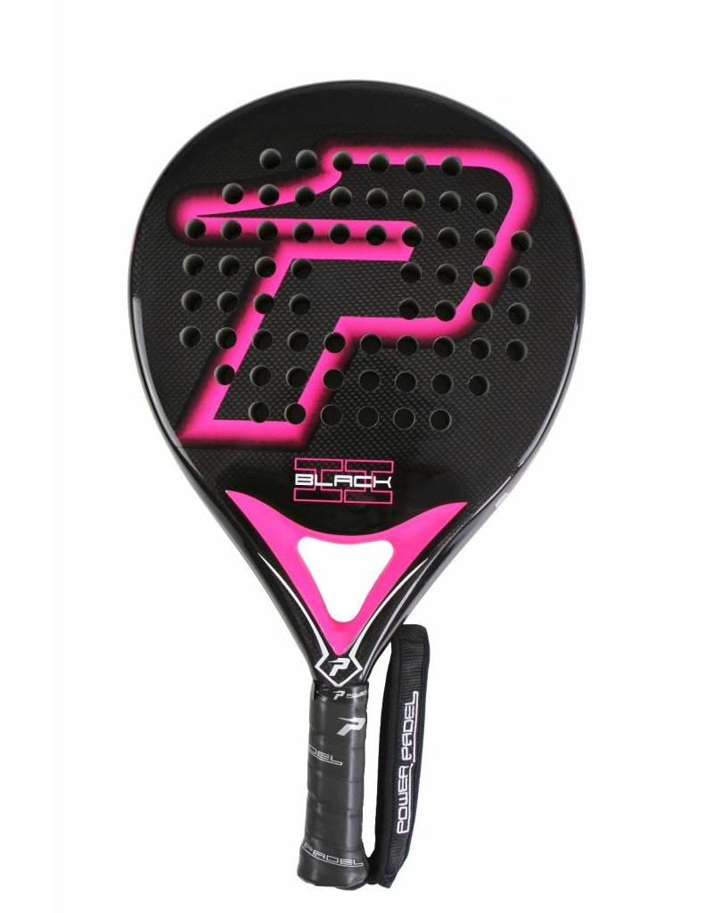 Power Padel Power Padel Black Brillo 2 Fucsia