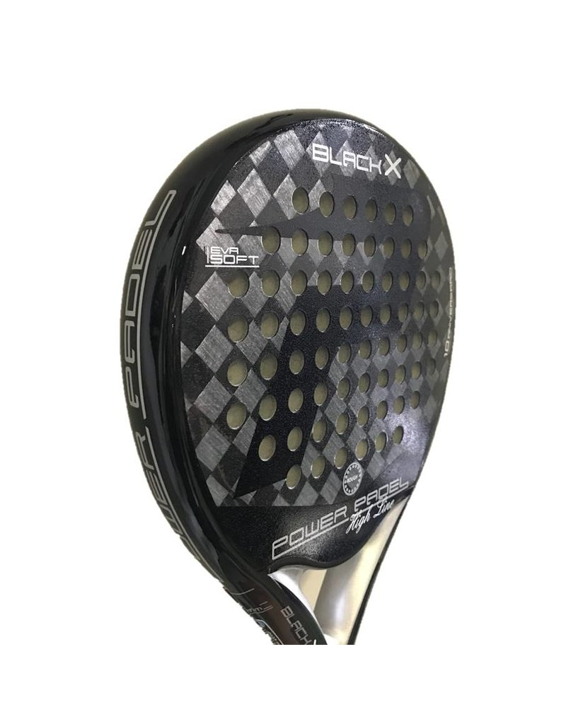 Power Padel Power Padel Black Mate - Copy