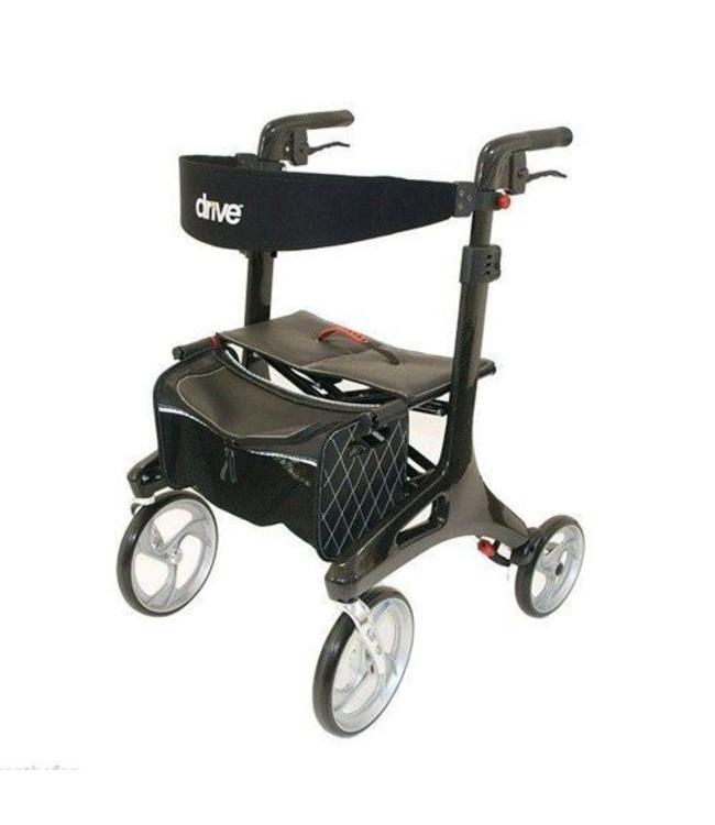 Drive lichtgewicht rollator Nitro Carbon