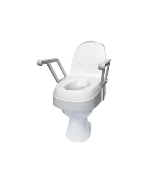 Toilet verhoger 120 met armleuningen