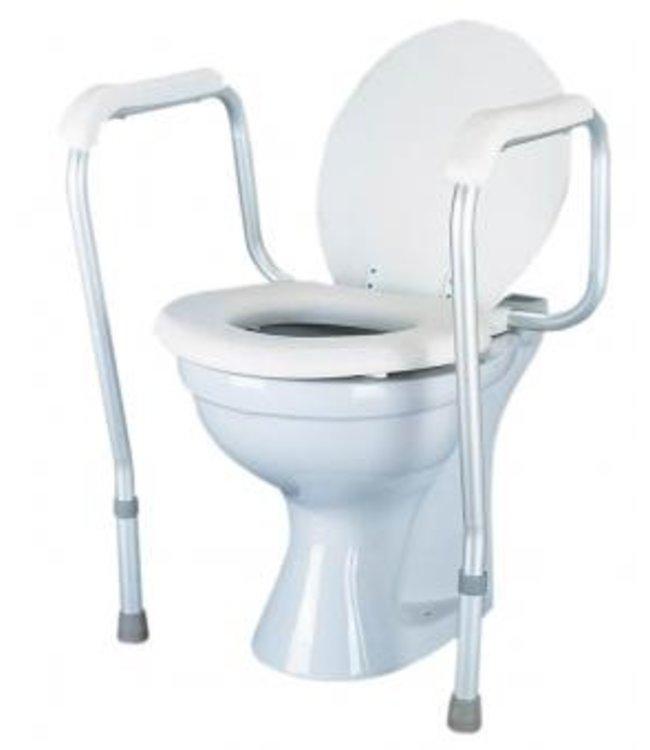 Toiletframe aan toilet