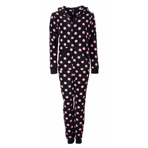 Irresistible Dames Onesie Pyjama Zwart IRPYD2611B