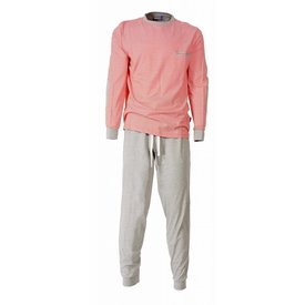 M.E.Q M.E.Q Heren Pyjama Oranje
