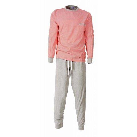 M.E.Q Heren Pyjama Oranje