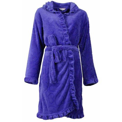 Tenderness Dames Badjas Blauw TEBRD1503A