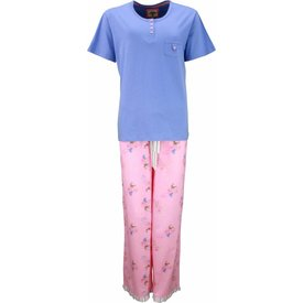 Tenderness Tenderness Blauw Dames Pyjama TEPYD1301A