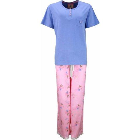 Tenderness Blauw Dames Pyjama TEPYD1301A