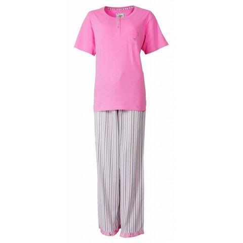 Tenderness Roze Dames Pyjama TEPYD1301B